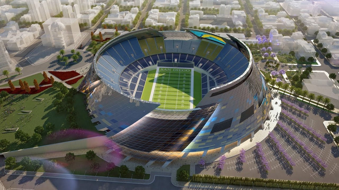 New Stadium For The Chargers Youtube
