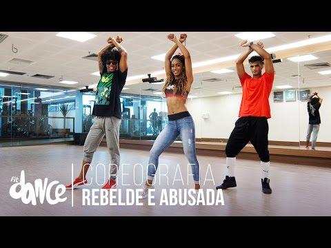 Rebelde e Abusada - Tati Zaqui - Coreografia |  FitDance - 4k thumbnail