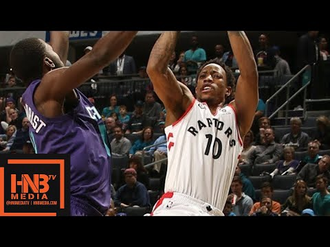 Toronto Raptors vs Charlotte Hornets Full Game Highlights / Feb 11 / 2017-18 NBA Season