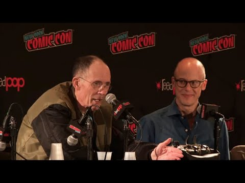 Author William Gibson in conservation with Lev Grossman | NYCC 2019