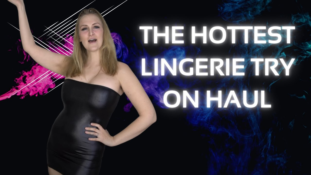Sexy Bikini Two Piece Lingerie Collection Try On Haul Unboxing!