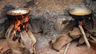 Pig Liver Cooking Famous Village Pig Shop in India || Wild Food