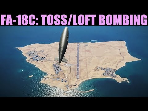 FA-18C Hornet: Toss/Loft Bombing Tutorial | DCS WORLD