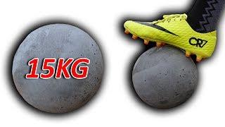NTN - Thử Thách Đá Bóng Bê Tông Nặng 15KG ( Concrete soccer )