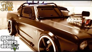 "RC DRIFT CAR - ARMORED MUSTANG inspired by GTA 5 "" DUKE O' DEATH """