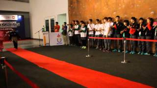 Opening Ceremony Of Asian University Climbing Championships