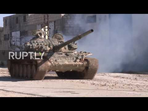 Syria: Intensive Syrian Army offensive on eastern Aleppo gains ground