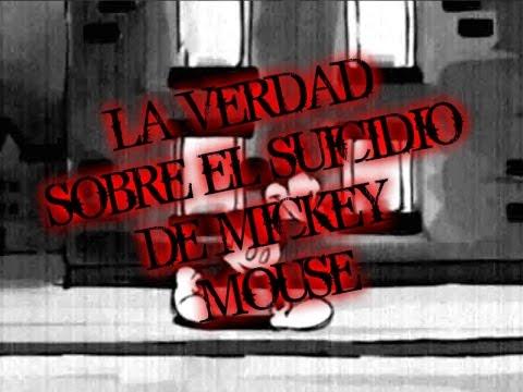 La verdad sobre el suicidio de mickey mouse (CREEPYPASTA