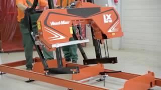 Wood-Mizer LX100 Sawmill Assembly