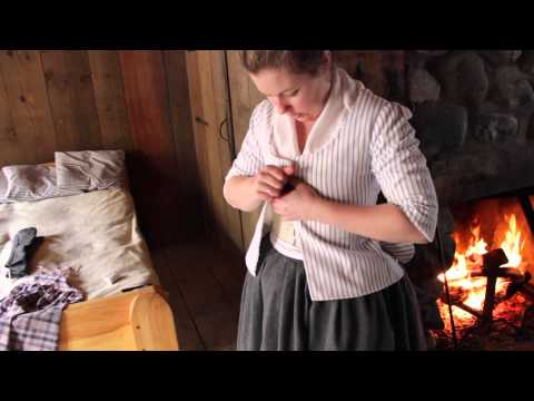 Women's Clothing at Colonial Michilimackinac