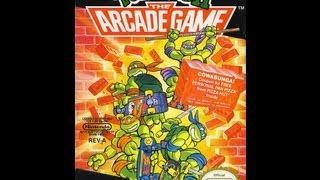 Teenage Mutant Ninja Turtles II: The Arcade Game Video Walkthrough