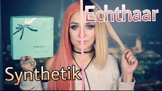 Synthetik vs Echthaar I Lace Perücken