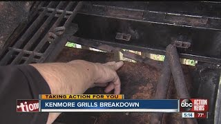 Kenmore grills breakdown