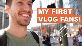 MY FIRST VLOG FANS! | DRUMMER ON TOUR VLOG