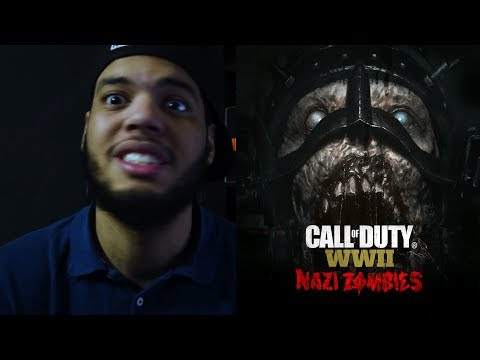 Video Oficial Call of Duty®: WWII Nazi Zombies Reaccion!