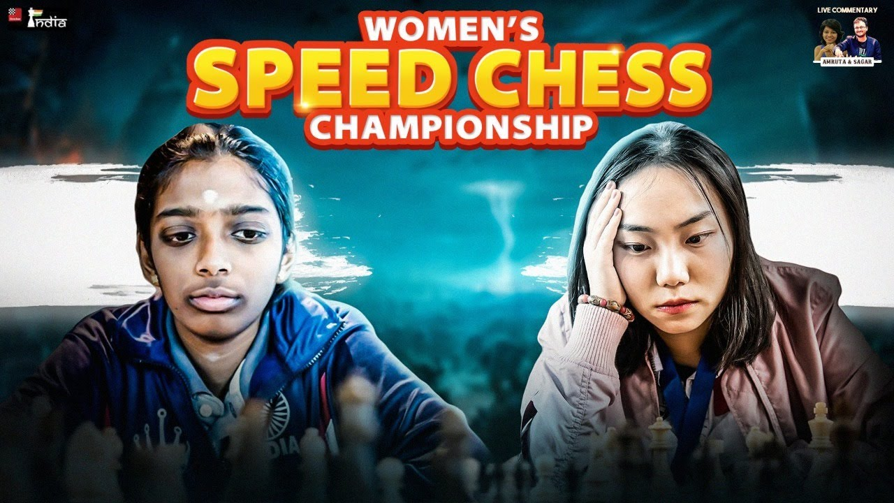 Download Vaishali vs Lei Tingjie | Women Speed Chess Championship 2021