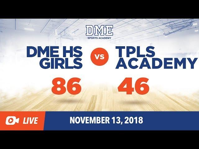 DME HS Girls vs TPLS