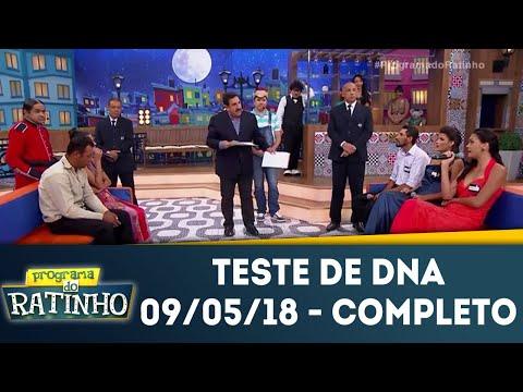 Teste De DNA - Completo | Programa Do Ratinho (09/05/18)