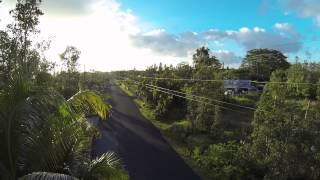 DJI Phantom over Puna, Hawaii