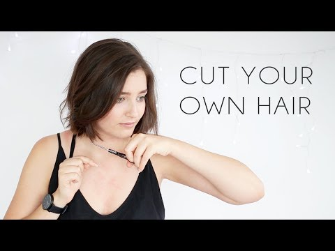 How to Cut Your Own Hair 2020