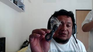 umboxing camara flymemo a9 hd 1080p mjpeg 2 inch lcd