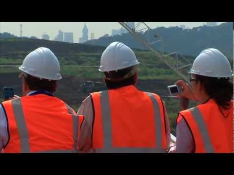 Engineering Congress participants visit the Panama Canal Expansion