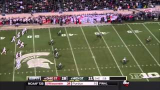 Week 9, 2014 - Ohio State vs. Michigan State in 30 Minutes