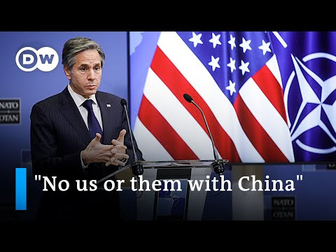 US calls for joint approach towards China at NATO summit | DW News