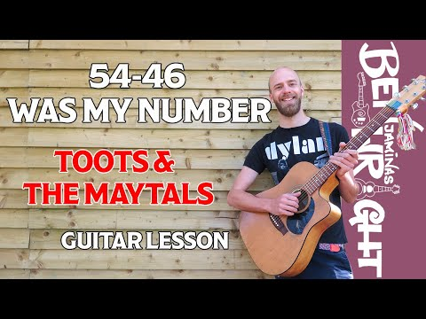 54-46 Was My Number - Toots & The Maytals - Guitar Lesson (SL12)