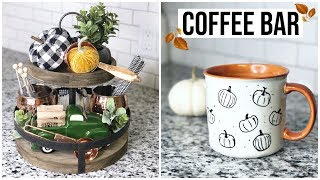 Fall Coffee Bar! | Decorate with me 2018
