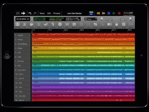 iPad Music Studio P3