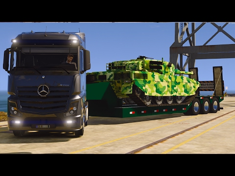 RP GTA V ! Convoi Militaire Exceptionnel  !