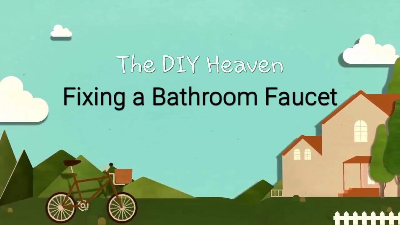 Fix a broken bathroom health faucet - YouTube