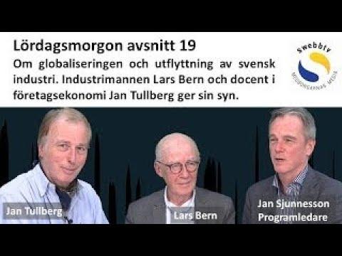 Lördagsmorgon Avsnitt 19 – Varför jobben försvinner från Sverige. Vad händer med Er
