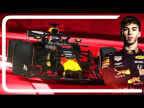 F1 2019 MOD RED BULL HONDA GAMEPLAY | Pierre Gasly Cockpit View
