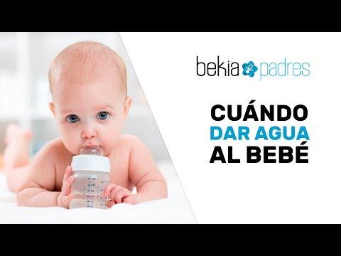 cuando dar agua a un bebe