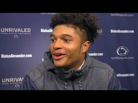 Penn State's Marcus Allen on his first career interception