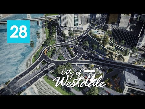 Cities Skylines: Westdale EP28 - Foundation of Concrete Jungle with Relaxing Music [4K]