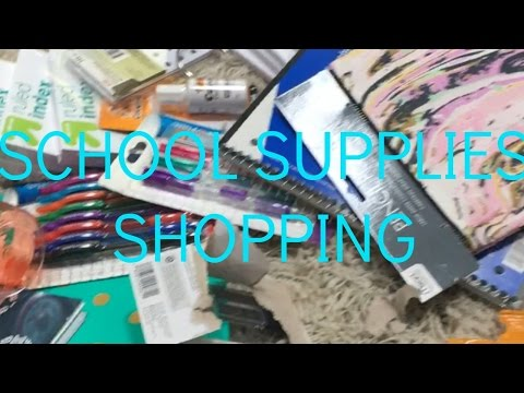 BACK TO SCHOOL SHOPPING// July 29, 2016
