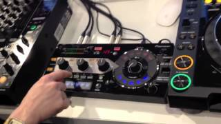 Pioneer RMX1000 Effects and Remix Station Live Demo @ Musikmesse 2012 Frankfurt