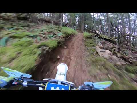 Dirt biking BC Vedder Mountain 2018