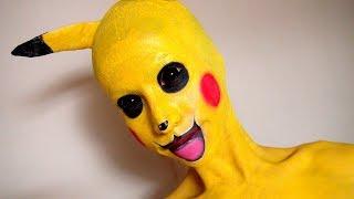 ピカチュウメイク方法(化粧) Pikachu Makeup Tutorial