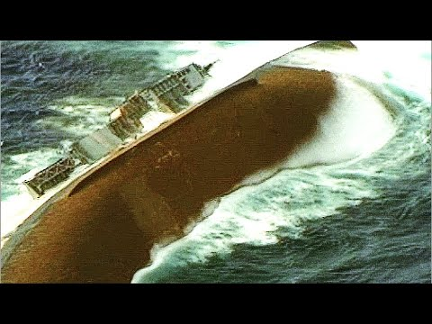 Sinking A Us Navy Ship Direct Missile Hit Maritime