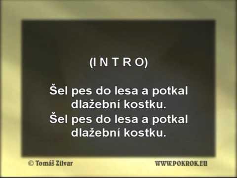 Karaoke Dlažební kostka - Brutus - www.pokrok.eu (INSTRUMENTAL)