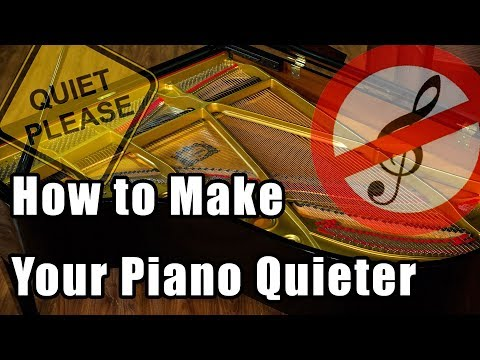 How to Make Your Piano Quieter - Piano Questions