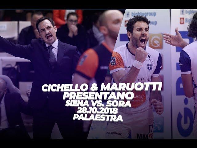 Coach Cichello e Maruotti presentano il match contro Sora