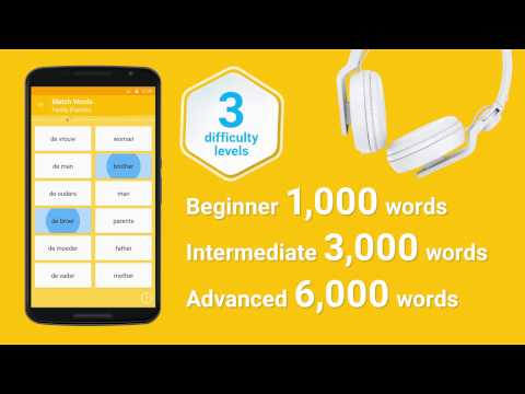 Learn Dutch 6,000 Words