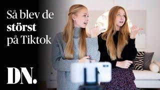Iza och Elle Cryssanthander är största svenskarna på Tiktok