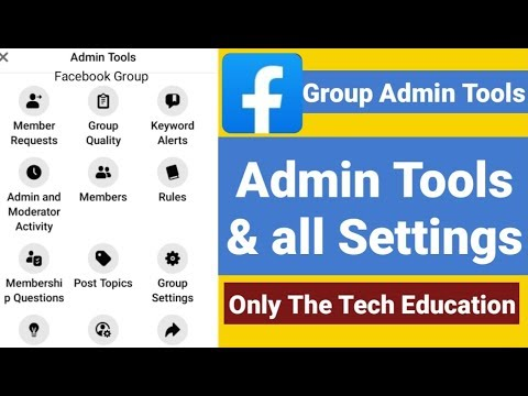 facebook group admin tools and settings / professional facebook group admin tolls and setttings 2020