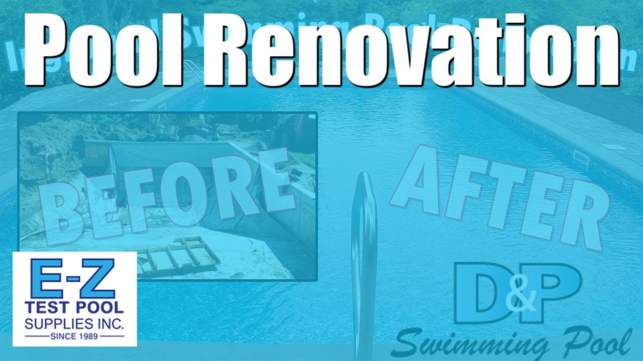Swimming pool renovation in hd inground pool remodel construction youtube for Swimming pool renovation ideas
